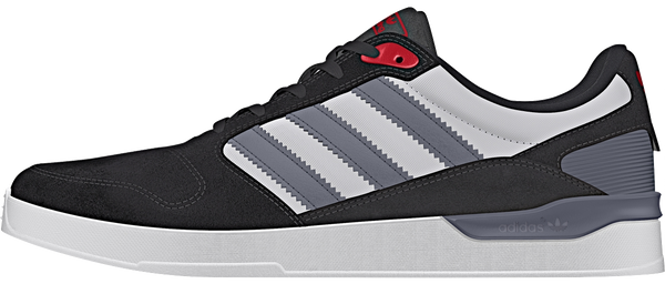 FOOTWEAR / adidas / ZX VULC - CORE BLACK/ONYX/COLLEGIATE RED