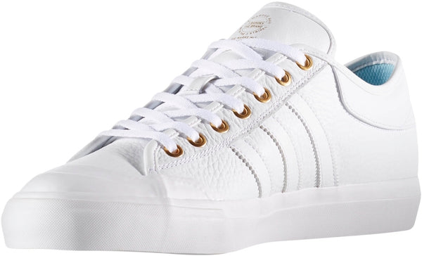 FOOTWEAR / adidas / MATCHCOURT - WHITE/METALLIC GOLD/ICE BLUE
