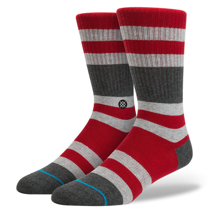 SOCKS / STANCE / CHARGES - RED