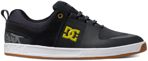 FOOTWEAR / DC / LYNX PRESTIGE S - CHARCOAL/YELLOW