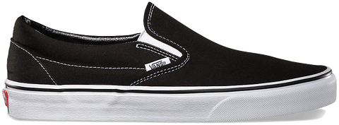 FOOTWEAR / VANS / CLASSIC SLIP-ON - BLACK