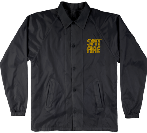 JACKETS / SPITFIRE / CLEAN CUT - BLACK/YELLOW