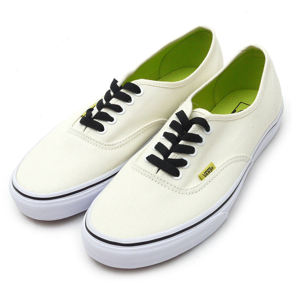 19376f51b347 FOOTWEAR   VANS   AUTHENTIC - CLASSIC WHITE LIME PUNCH (POP) – Exodus Skate  Shop