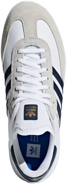 FOOTWEAR / adidas / SAMBA ADV - WHITE/COLLEGIATE NAVY/GOLD METALLIC