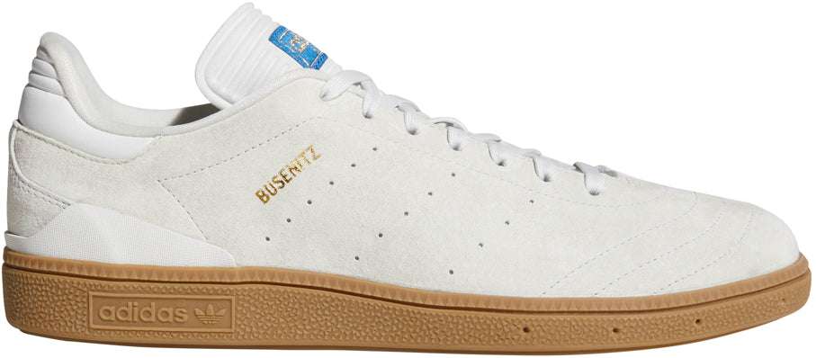 FOOTWEAR / adidas / BUSENITZ RX - CRYSTAL WHITE/GUM/METALLIC GOLD