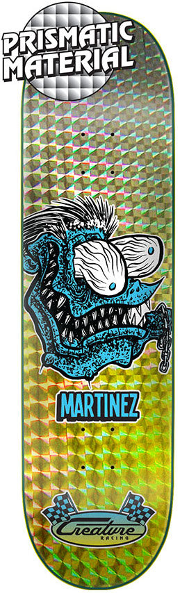DECKS / CREATURE / CHAIN FINK - MILTON MARTINEZ - 8.375""