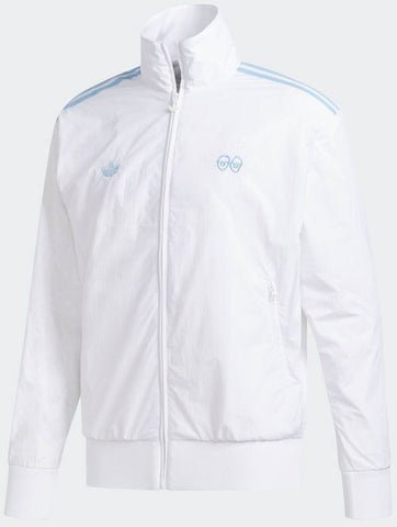 JACKETS / ADIDAS / ADIDAS X KROOKED / KROOKED JACKET - WHITE/CLEAR BLUE