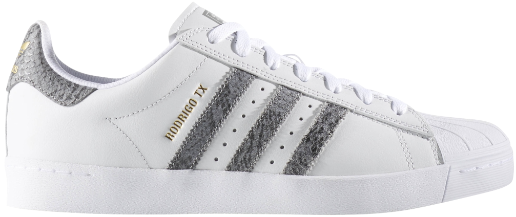 FOOTWEAR / adidas / SUPERSTAR VULC ADV - CRYSTAL WHITE/SOLID GREY/WHITE