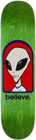DECKS / ALIEN WORKSHOP / BELIEVE - 8.0""