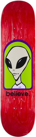 DECKS / ALIEN WORKSHOP / BELIEVE - 8.25""