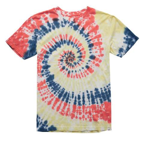T-SHIRTS / ALTAMONT / DETERIORATE TIE DYE - YELLOW