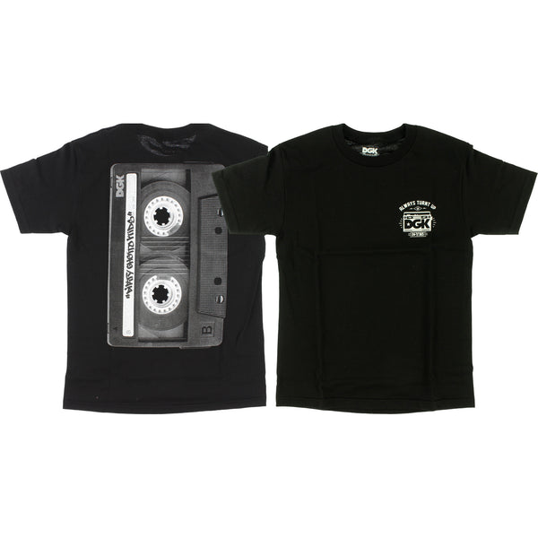 T-SHIRTS / DGK / TURNT - BLACK