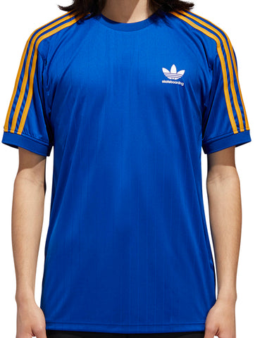 T-SHIRTS / ADIDAS / CLIMA CLUB JERSEY - COLLEGIATE ROYAL/TACTILE YELLOW