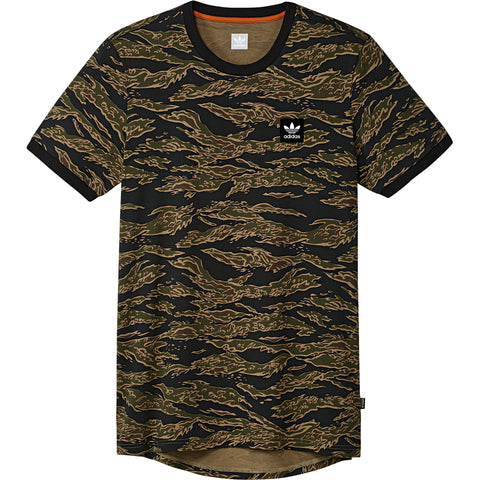 T-SHIRTS / ADIDAS / CAMO AOP - CAMO PRINT/BLACK/COLLEGIATE ORANGE
