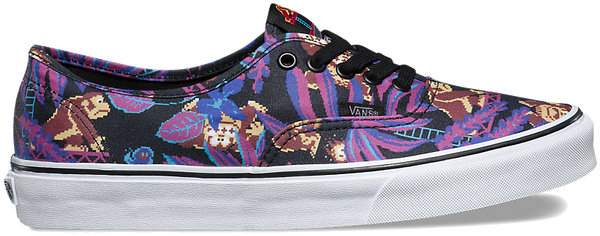 FOOTWEAR / VANS / AUTHENTIC - DONKEY KONG/BLACK (NINTENDO)