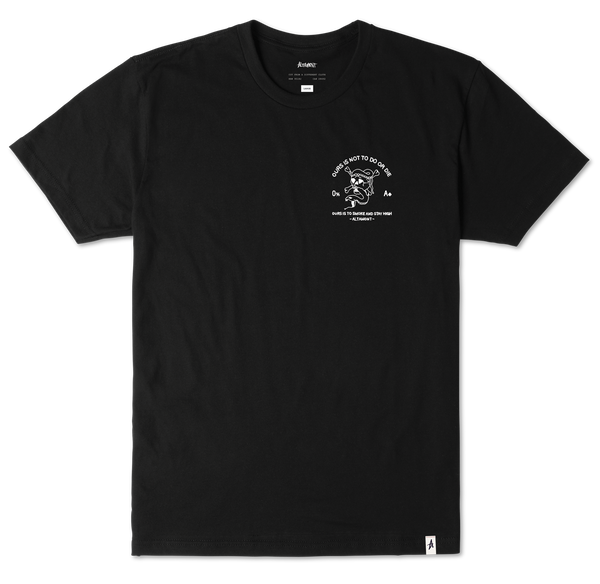 T-SHIRTS / ALTAMONT / DO OR DIE - BLACK