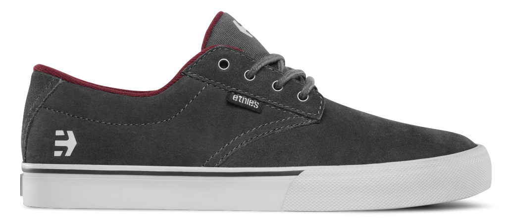 FOOTWEAR / ETNIES / JAMESON VULC - DARK GREY/GREY/RED