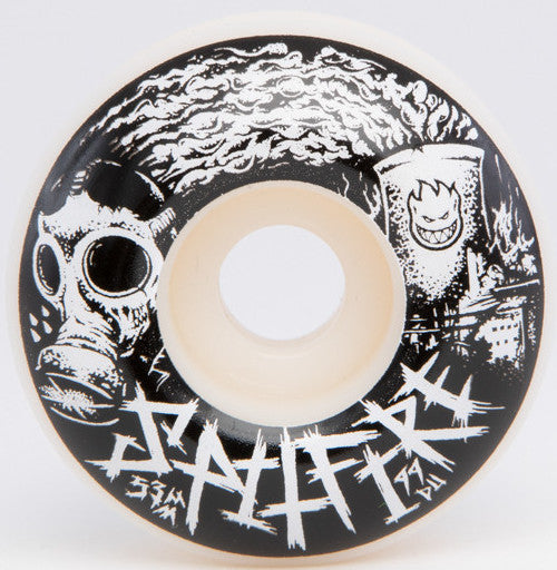 WHEELS / SPITFIRE / SPITCRUST - 52MM - (set of four)