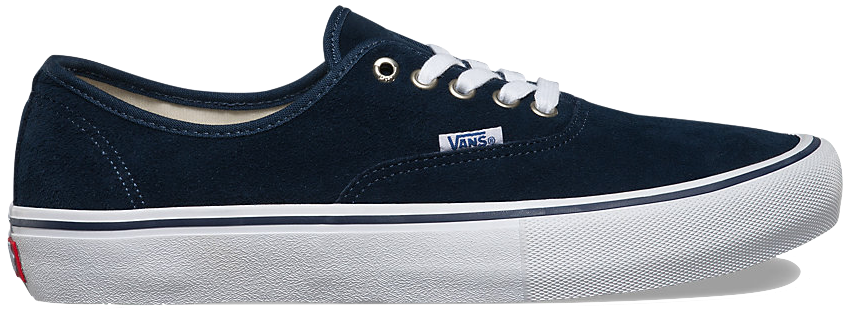 FOOTWEAR / VANS / AUTHENTIC PRO - DRESS BLUES/WHITE (SUEDE)