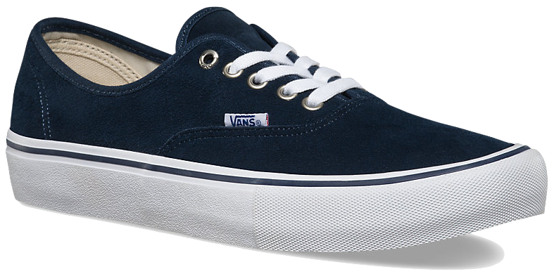 d19caed53e7f2e FOOTWEAR   VANS   AUTHENTIC PRO - DRESS BLUES WHITE (SUEDE) – Exodus Skate  Shop