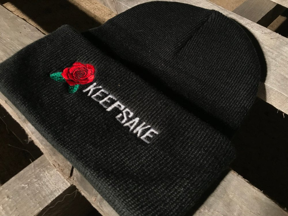 BEANIES / KEEPSAKE / ROSE - BLACK