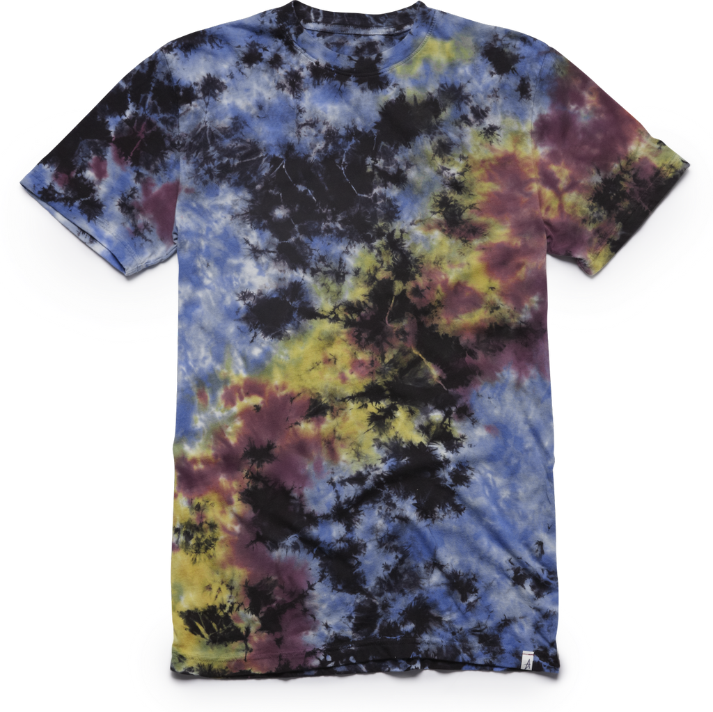 T-SHIRTS / ALTAMONT / ELECTRIC CLOUDS - BLUE