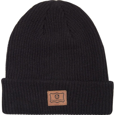 BEANIES / EXPEDITON / PATCH - BLACK
