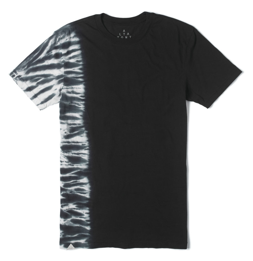 T-SHIRTS / ALTAMONT / FADED BURN OUT - BLACK