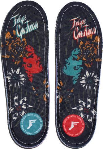 FOOTWEAR / FOOTPRINT / GAMECHANGERS CUSTOM ORTHOTICS - FELIPE GUSTAVO