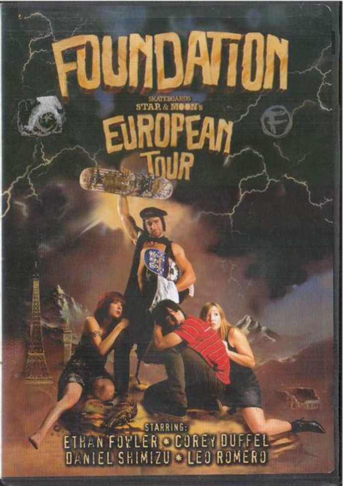 VIDEOS / FOUNDATION / EUROPEAN TOUR (DVD)