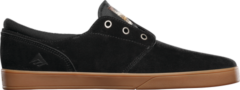 FOOTWEAR / EMERICA / THE FIGUEROA - BLACK/GUM