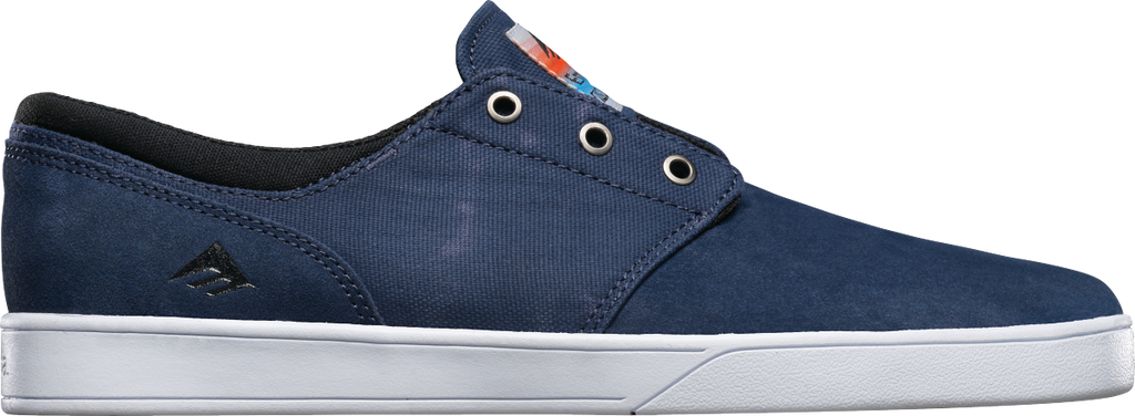 FOOTWEAR / EMERICA / THE FIGUEROA - BLUE/BLACK/WHITE
