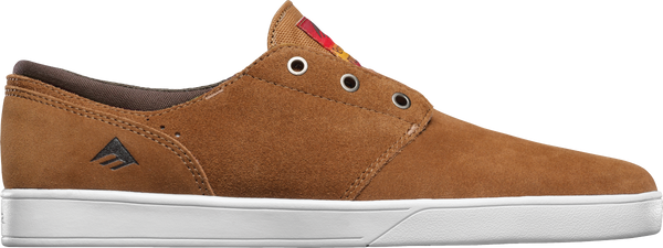FOOTWEAR / EMERICA / THE FIGUEROA - BROWN/WHITE