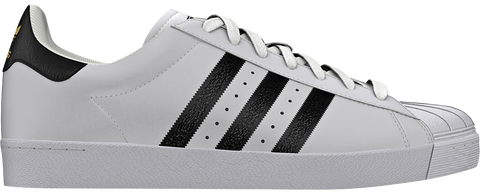 FOOTWEAR / adidas / SUPERSTAR VULC ADV - WHITE/CORE BLACK/WHITE