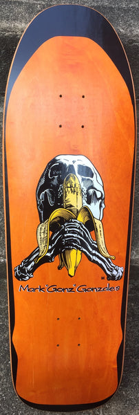 DECKS / BLIND / MARK GONZALEZ - SKULL & BANANA (SILKSCREENED) - ORANGE
