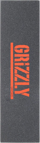 GRIPTAPE / GRIZZLY / STAMP LOGO - ORANGE
