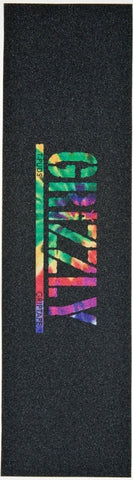 GRIPTAPE / GRIZZLY / TOREY PUDWILL - STAMP LOGO - TIE DYE