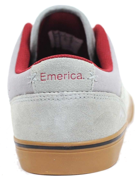 FOOTWEAR / EMERICA / HERMAN G6 VULC - GREY/GUM