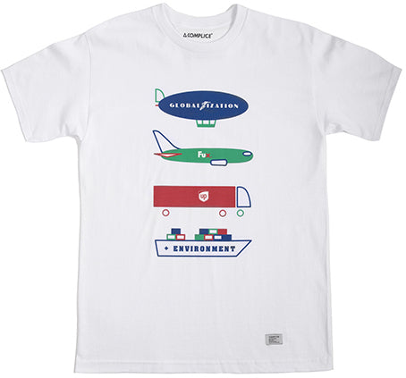 T-SHIRT / AKOMPLICE / GLOBALIZATION - WHITE