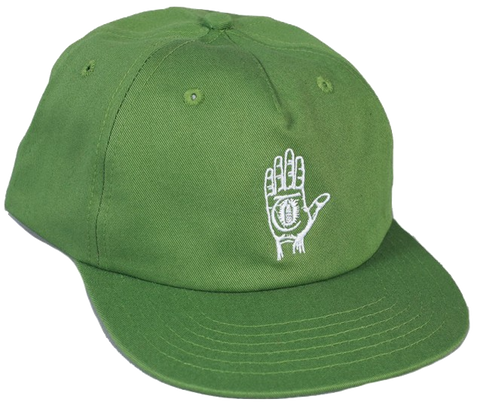 HATS / THEORIES / HAND OF THEORIES - GREEN/WHITE