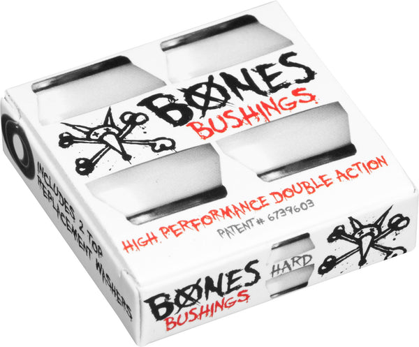 BUSHINGS / BONES / 96A - HARD - WHITE