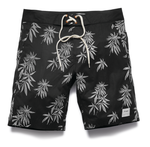 BOARDSHORTS / ALTAMONT / HARVS - BLACK/WHITE