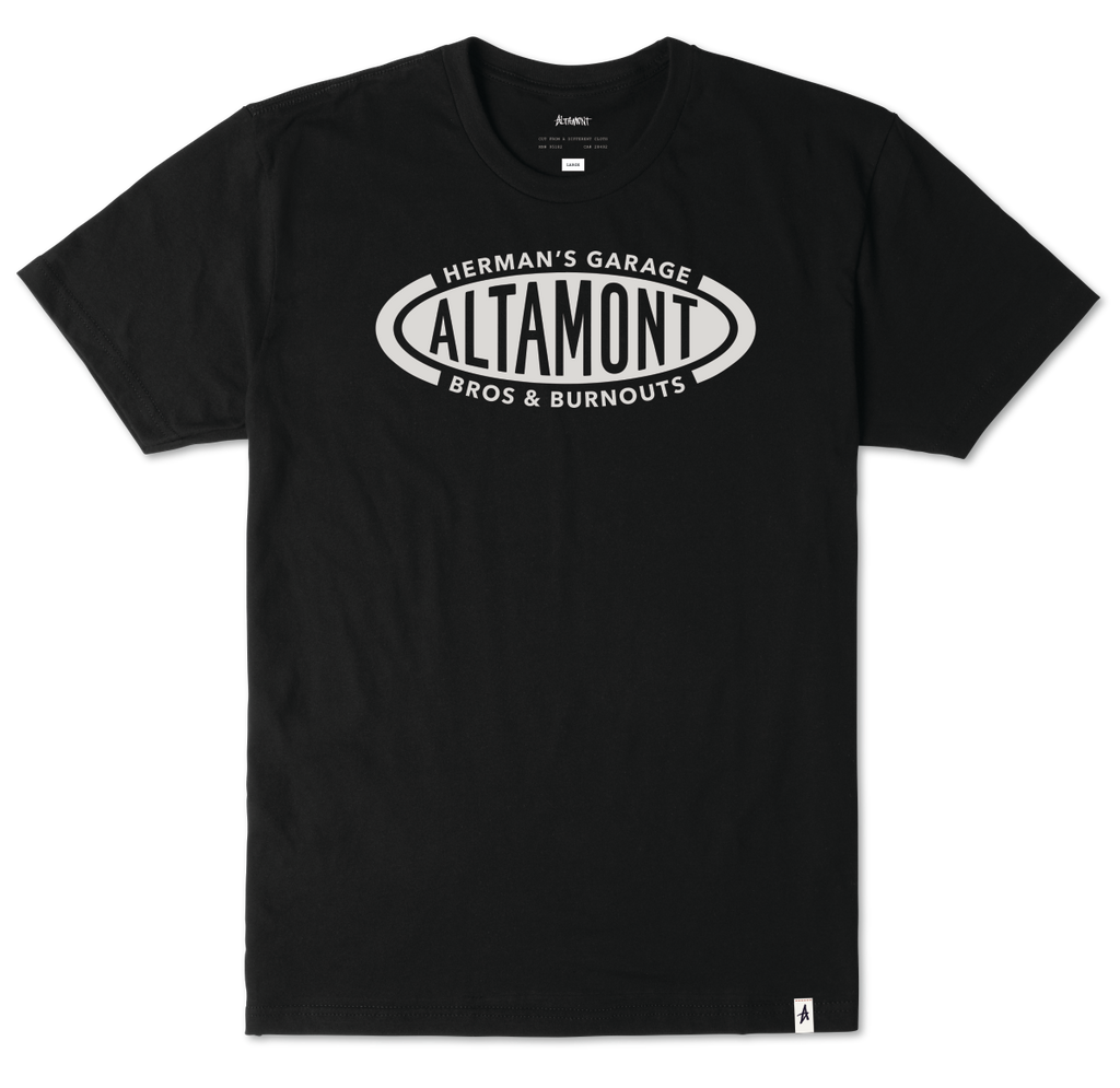 T-SHIRTS / ALTAMONT / HERMANS BROS - BLACK
