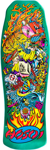 DECKS / SANTA CRUZ / (REISSUE) COLLAGE CANDY / CHRISTIAN HOSOI - MINT