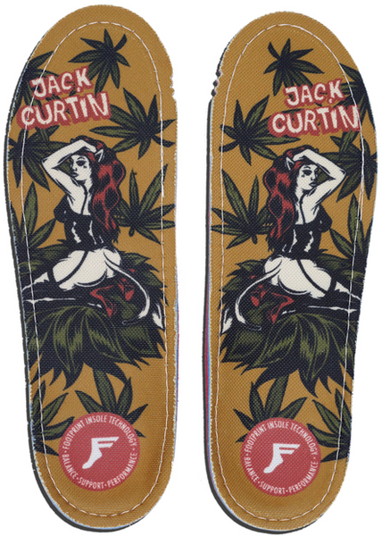 FOOTWEAR / FOOTPRINT / GAMECHANGERS CUSTOM ORTHOTICS - JACK CURTIN
