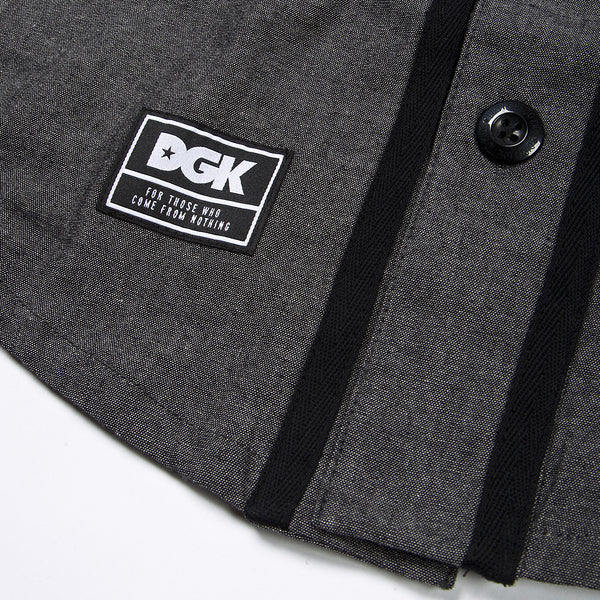 WOVENS / DGK / FROM NOTHING JERSEY - BLACK