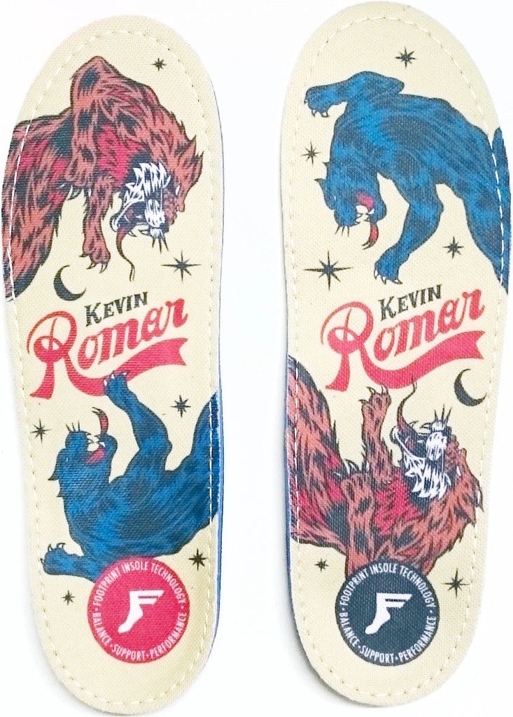 FOOTWEAR / FOOTPRINT / GAMECHANGERS CUSTOM ORTHOTICS - KEVIN ROMAR