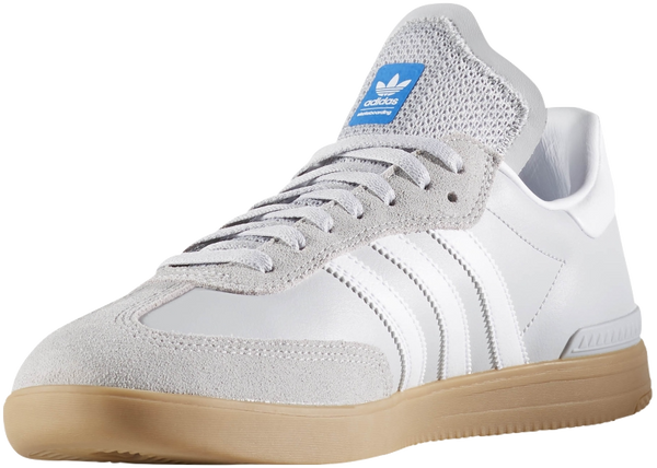 FOOTWEAR / adidas / SAMBA ADV - LGH SOLID GREY/WHITE/BLUE BIRD