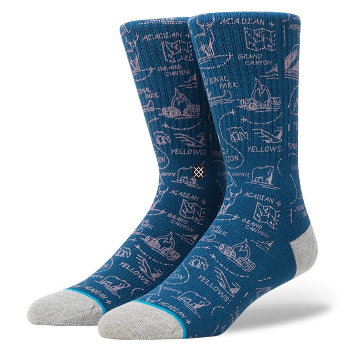 SOCKS / STANCE / LONESOME - NAVY