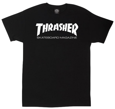 T-SHIRTS / THRASHER / SKATE MAG - BLACK
